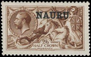 Nauru Scott 13a Gibbons 20 Mint Stamp