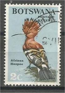 BOTSWANA, 1967, used 2c, Birds, Scott 20