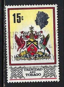 TRINIDAD & TOBAGO 151 VFU ARMS Z2217-9