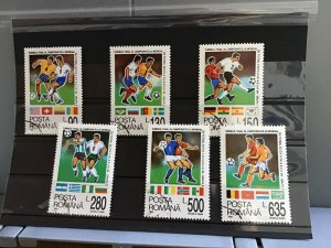 Romania 1994 Football  used stamps R23328