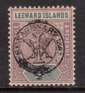 Leeward Islands #14 VF/NH