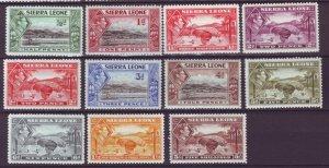 J21932 Jlstamps 1938-44 sierra leone part of set mh #173-5,176-80,181a,183