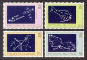Pitcairn Islands Sc# 244-7 MNH Star Constellations