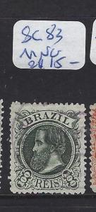 BRAZIL  (P2110B)  DOM PEDRO 100R  SC 82   MNG