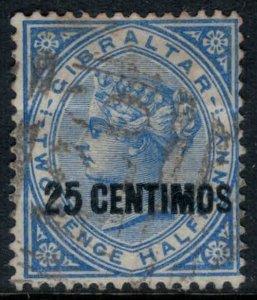 Gibraltar #25  CV $2.75