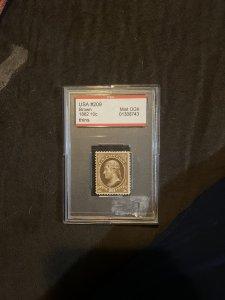 Scott 209 10c Jefferson Brown