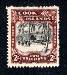 Cook Islands, Scott 113, VF, Unused, Original Gum, CV $13.00   ....... 1500067
