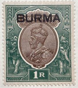 AlexStamps BURMA #13 XF Mint