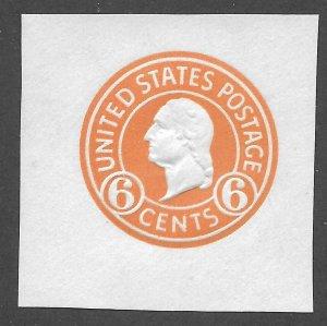Doyle's_Stamps: Mint 1932 Scott #U529* Cut Square
