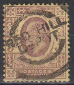 Great Britain #132 F-VF Used CV $19.00 (B1898)