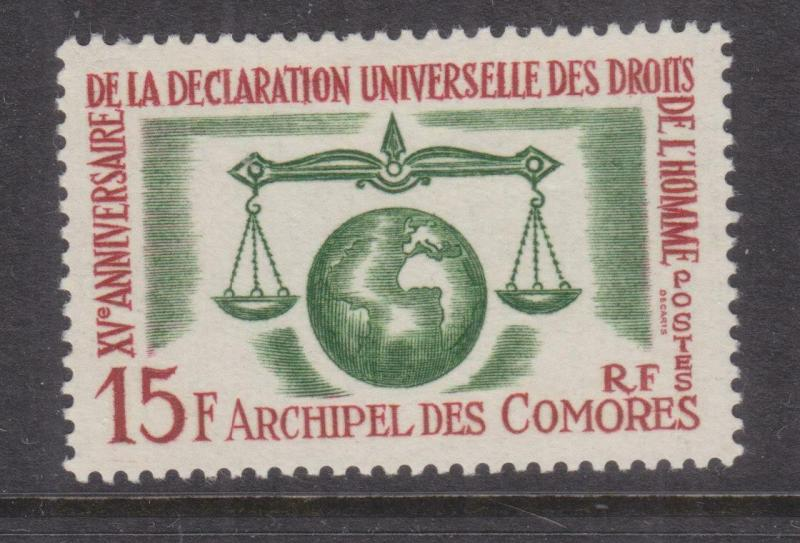COMORO ISLANDS, 1963 Declaration of Human Rights 15f., lhm.