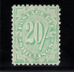 Australia #J38 (SG #D62) Very Fine Mint **With Certificate**