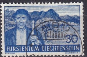 Liechtenstein #142 F-VF Used  (S10033)