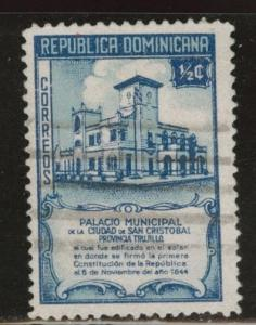 Dominican Republic Scott 412 used 1945 stamp