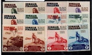 Somalia 164-169 C1-C6  Set Mint Hinged