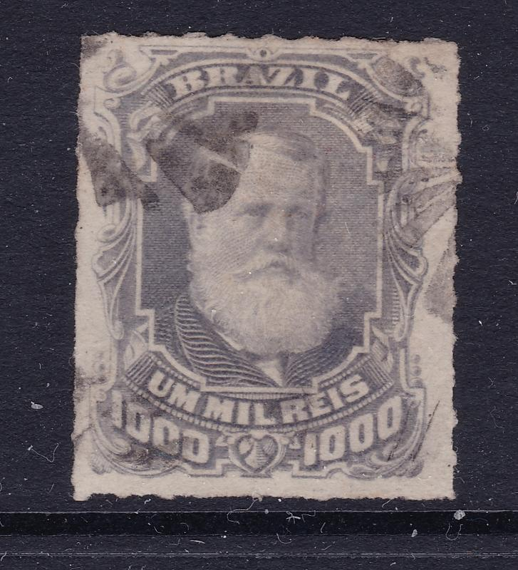 Brazil a 1878 1000R used roulette