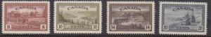 Canada 1946 KGVI  Scott 268-273 (6) inc. .50 Logging & $1. Ferry XF/NH/(**)