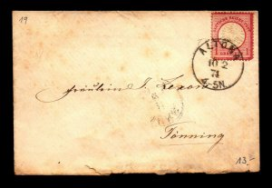 Germany 1874 Cover Used / Back Flap Damage - L7870