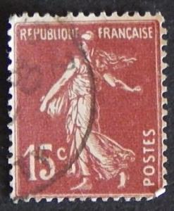 1925 -1926, Sower, 15c, France, YT #189 (1009-T)