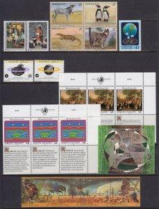 UN - Vienna 1993 Complete Mint MNH Year Set SC 141-159
