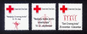 Montenegro - New Issue - MNH Red Cross 2012 (Charity Labels)