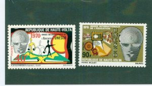 Burkina FAS 218-19 MNH BIN$ 2.00
