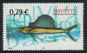 Mayotte Fish Sailfish 1v SG#180