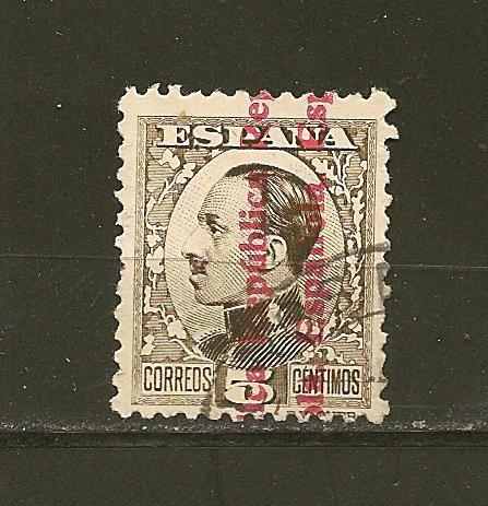 Spain 479 Overprint Used