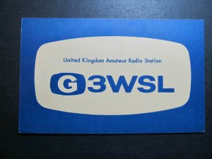 10074 Amateur Radio QSL Card EASTLEIGH ENGLAND