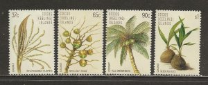 Cocos Islands Scott catalog # 173-176 Mint NH