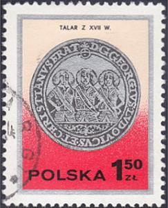 Poland # 2238 used ~ 1.50z Silver Coin