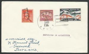 USA ANTARCTIC 1960 cover USS Arneb cancel..................................53523