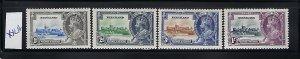 NYASALAND SCOTT #47-50 1935 GEORGE V SILVER JUBILEE  MINT NEVER/LIGHT  HINGED