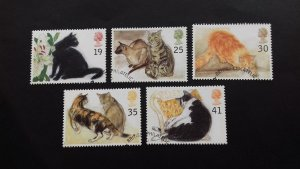 Great Britain 1995 Cats Used