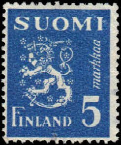 Finland #176D Used VG 2-14