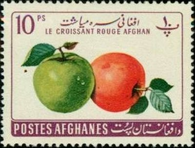 Afghanistan 1961 Apples (Malus sylvestris) mh*