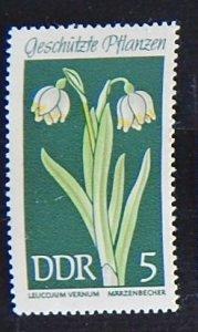 DDR, Flowers, (1551-Т)