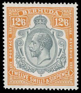 Bermuda Scott 81-97 Gibbons 76b-93 Mint Set of Stamps