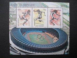 1988 - Summer olympics, Seouls - MNH