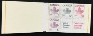 Canada 945a set of  ten booklets  MNH SCV $12.00