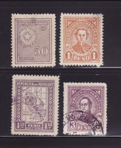 Paraguay 284, 289, 291, 296 U Various (B)