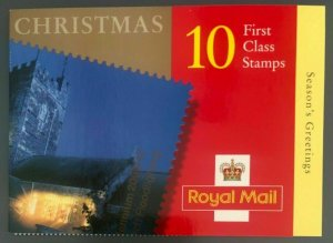 LX19 2000 Christmas Barcode Booklet 10 x 1s Class - complete