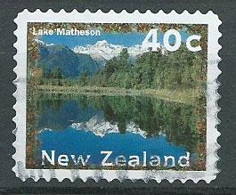 New Zealand SG 1988  VFU perf 11 1/2