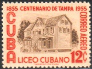 1955 Cuba Stamps Sc  C119 Cuban Museum Tampa MNH