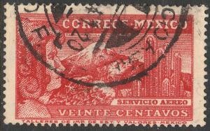 MEXICO C81, 20c EAGLEMAN. USED. (605)