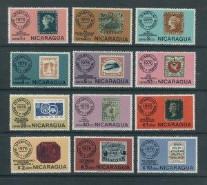 Nicaragua 1038-44, C913-7  MNH cgs