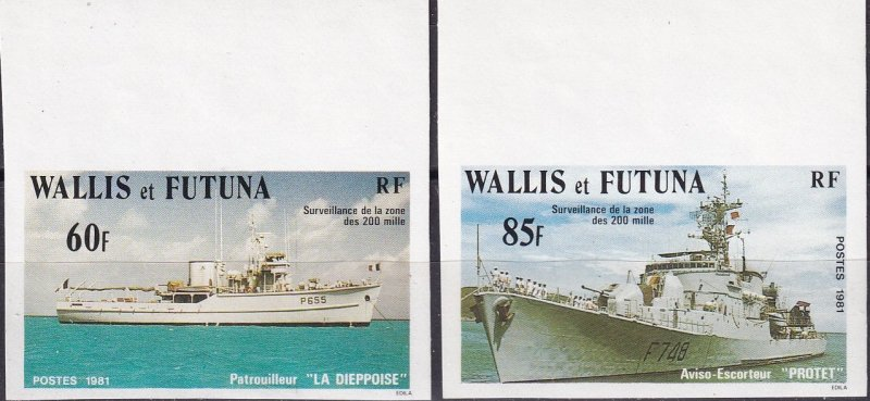 Wallis & Futuna Islands #276-7  MNH Imperf (Z9191)