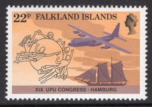 FALKLAND ISLANDS SCOTT 411