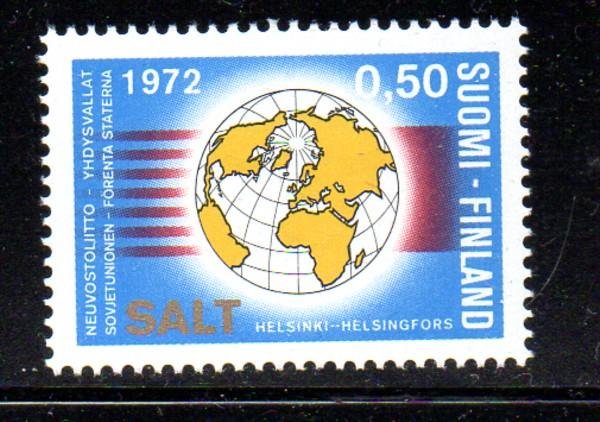 Finland Sc 515 1972 SALT Meeting stamp NH