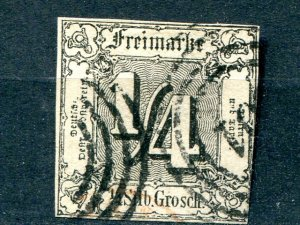 Thurn & Taxis #15  Used  - Lakeshore Philatelics